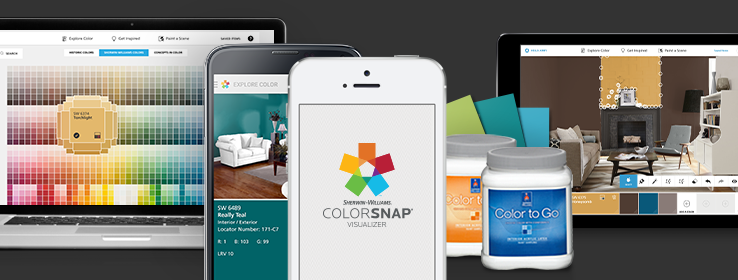 Choose your paint color from any digital device academy for Digitally paint your house